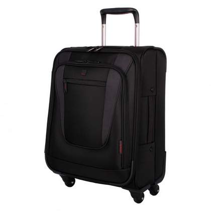 Tripp Technology Carry on 4-Wheel Suitcase Black