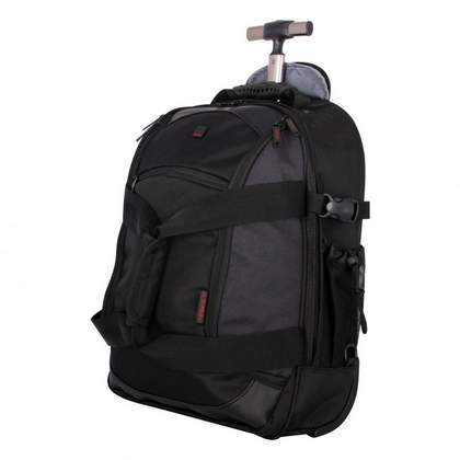 Tripp Technology Backpack on Wheels Black