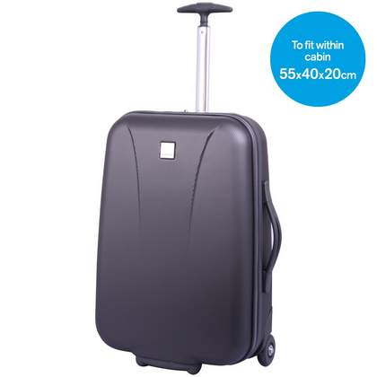 Tripp Lite 2-Wheel Cabin Suitcase Graphite