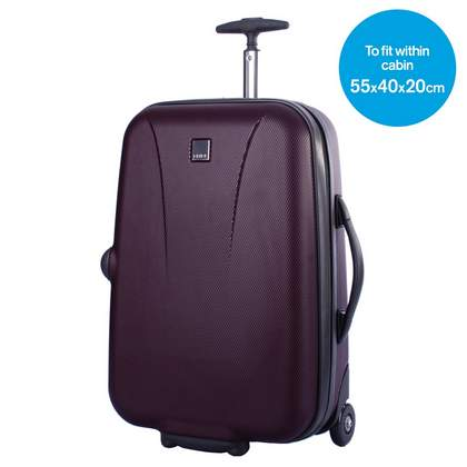 Tripp Lite 2-Wheel Cabin Suitcase Grape
