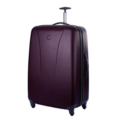 Tripp Lite 4-Wheel Large Suitcase Grape