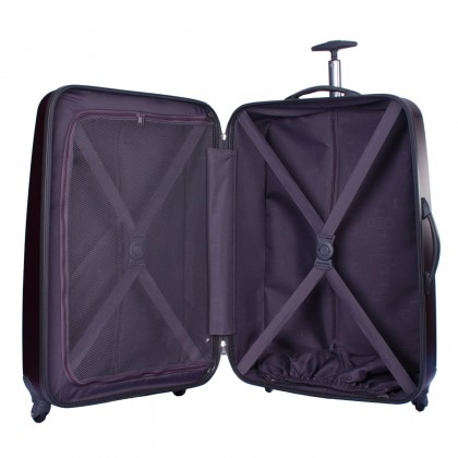 Tripp Lite 4-Wheel Medium Suitcase Grape