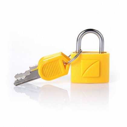 Travel Blue Identi key lock