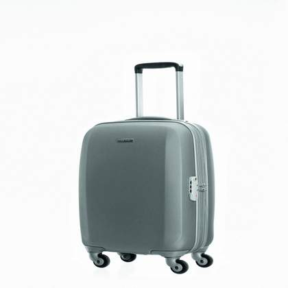 Samsonite Starwheeler 4-Wheel Carry on Upright Silver
