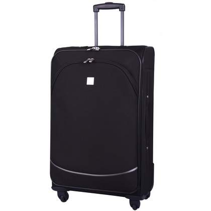 Tripp Glide Lite II 4-Wheel Medium Suitcase Black