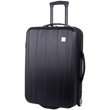 Tripp Essentials Hard 2-Wheel  Medium Suitcase Black