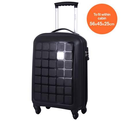 Tripp Holiday 4 4-Wheel Cabin Suitcase Black
