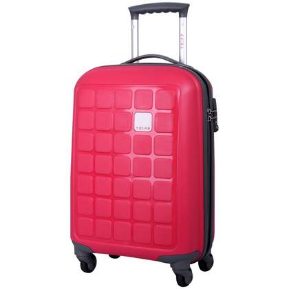 Tripp Holiday 4 4-Wheel Cabin Suitcase Raspberry