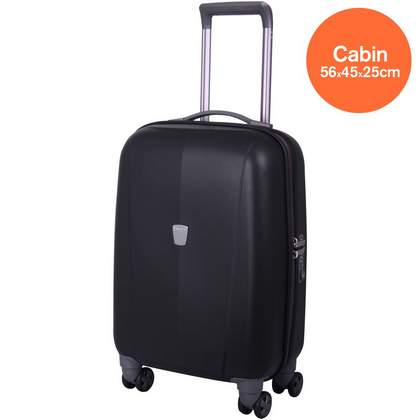 Tripp Ultimate Lite 4-Wheel Cabin Suitcase Black
