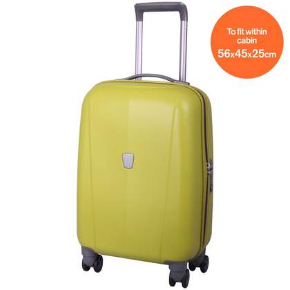 Tripp Ultimate Lite 4-Wheel Cabin Suitcase Chartreuse