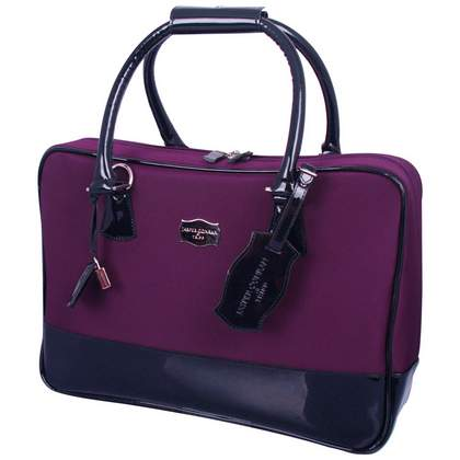 Jasper Conran at Tripp Metropolitan Laptop Bag Black Cherry