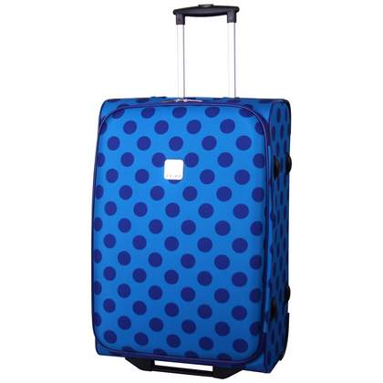 Tripp Express Dots 2 Wheel Medium Suitcase Turq/indigo