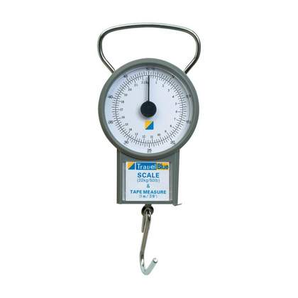 Travel Blue Travel scale