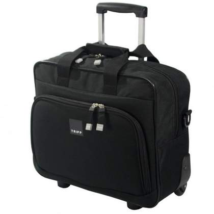 Tripp Essentials Wheeled Tote Black