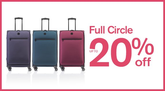 Full Circle up to 20% off