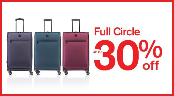 Full Circle up to 30% off
