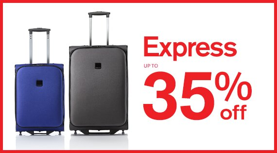 Express Up to 35% off