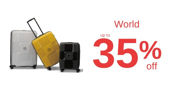 World up to 50% off