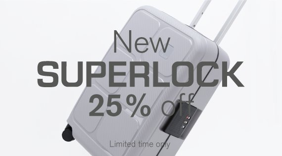 New Superlock 25% off
