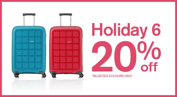 Holiday 6 20% off