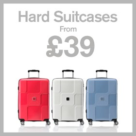 Hard Suitcases from £39