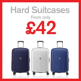 Hard Suitcases from £42