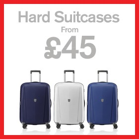 Hard Suitcases from £45