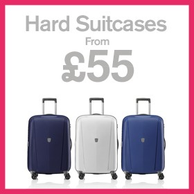 Hard Suitcases from £55