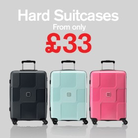 Hard Suitcases from £33.00