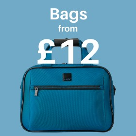 Bags from only £12