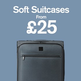 Soft Suitcases from £25