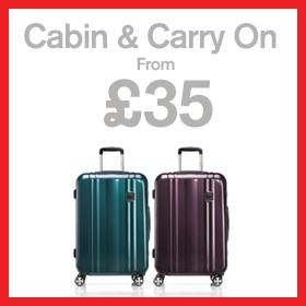 Cabin & carry on from £35