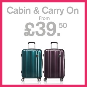Cabin & carry on from £39.50