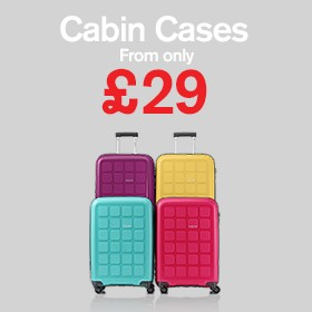 Cabin & carry on from £29