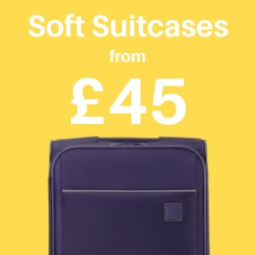 Soft Suitcases from only £43