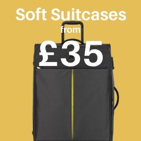 Soft Suitcases from only £32