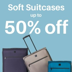 Soft Suitcases 50% off
