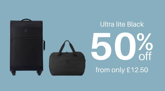 Ultra Lite black 50% off