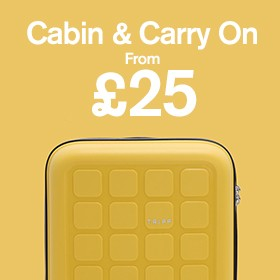 Cabin and Carry on from £29