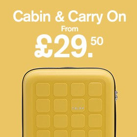 Cabin and Carry on from £29.50