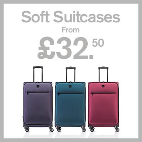 Soft Suitcases from £32.50
