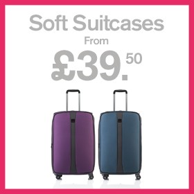 Soft Suitcases from £39.50