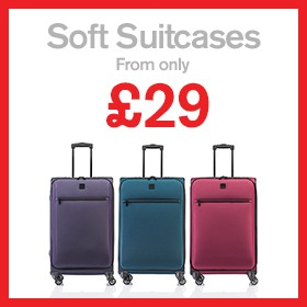 Soft Suitcases from £29