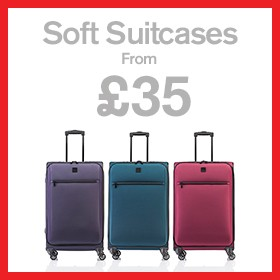 Soft Suitcases from £35