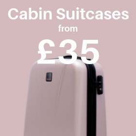 Cabin Suitcases from only £35