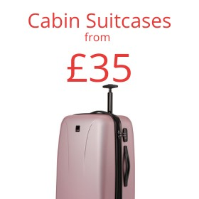 Cabin Suitcases from only £25