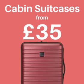 Cabin Suitcases from only £32