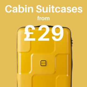 Cabin Suitcases from only £29