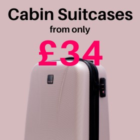 Cabin Suitcases from only £39
