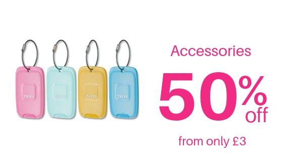 Accessories 50% off